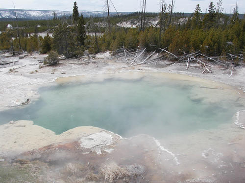 LANDFORMS- HOT SPRING AND GEYSER « GoLearnGeography